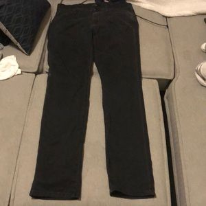 Black straight leg joe jeans